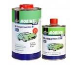 Бесцветный лак 2К MS 2+1 V5 Mobihel + отверд. 7700, уп 1л+0,5л (комплект)