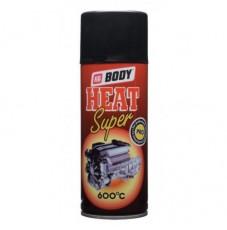 Аэрозольная краска Body Hi Heat высокотемпературная, чёрная, 400мл