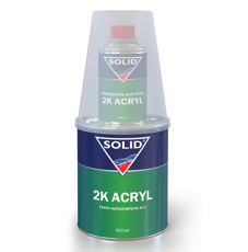 Грунт 2К SOLID ACRYL 5+1 белый (0,960л)