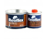 Грунт акриловый 3+1 Reoflex серый (0,5+0,167л)
