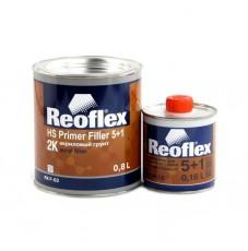 Грунт акриловый 5+1 Reoflex черный (0,8+0,16л)
