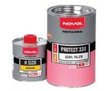 Грунт Novol 5+1 Protect 330 акриловый серый (1+0,2л)