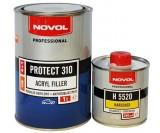 Грунт Novol 4+1 Protect HS 310 белый (1л+0.25л)