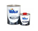 Грунт Vika 2К акриловый 3+1 серый (0,8+0,2л)
