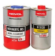 Лак Novol NOVAKRYL 2+1 MS (1л+0,5л)