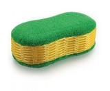 губка микрофибра double sponge