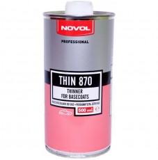 Разбавитель для баз NOVOL THIN 870  (0,5л)