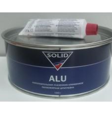 Шпатлёвка Solid ALU с алюминием 1000 г.