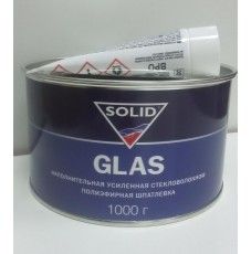 Шпатлёвка Solid GLAS со стекловолокном 1000 г.