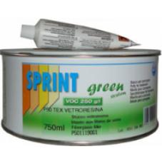 Шпатлёвка 2К Sprint со стекловолокном P50