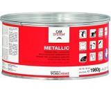 Шпатлевка с алюминиевым наполнителем Metallic Carsystem (1кг)
