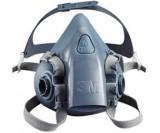 Полумаска 3М силиконовая без угольных фильтров (размер М)