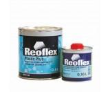 Грунт выравниватель по пластмассе 2К 5+1 серый Reoflex (0,8+0,16л)