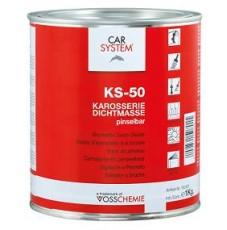 Герметик каучуковый под кисть Dichtmasse KS-50 серый (1л)